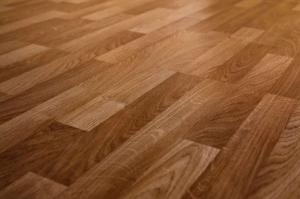 Light brown hardwood floors.