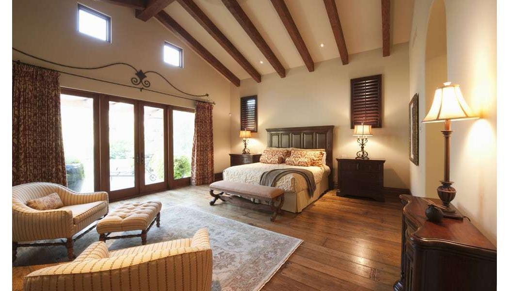 Flooring in master bedroom