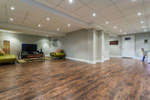 basement wood flooring