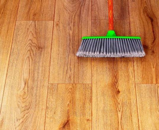 sweeping-wood-floor
