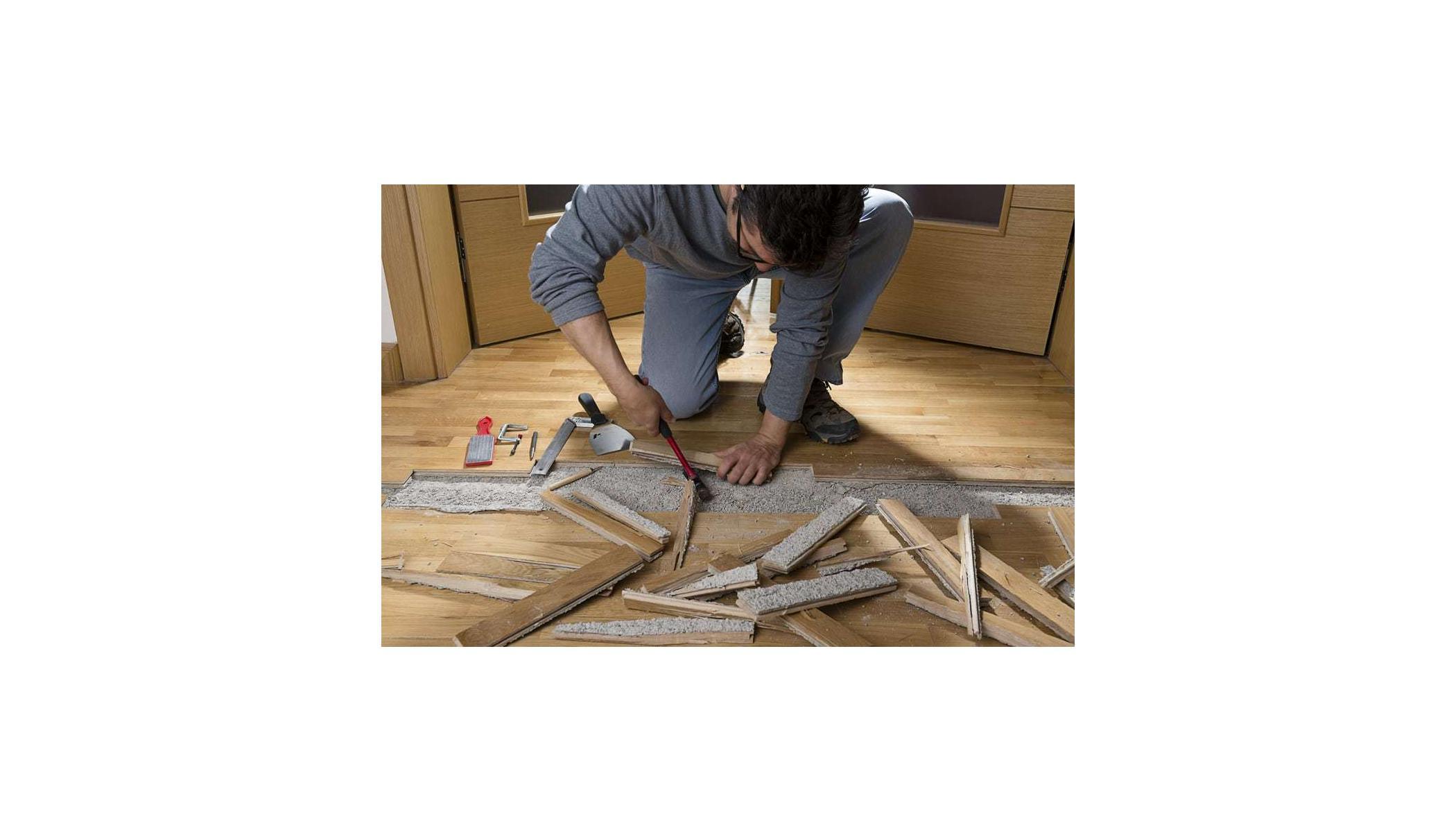Water Damage To Hardwood Floor Should You Repair Or Replace