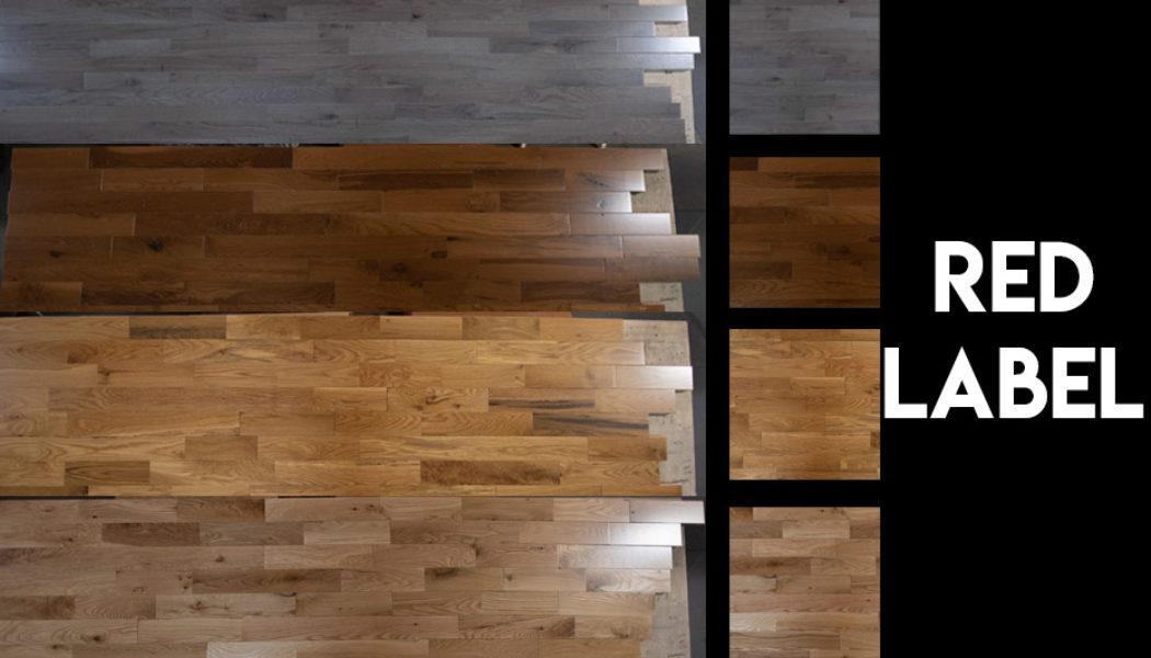Red Label Prefinished Hardwood Floors 4 Colors on Display