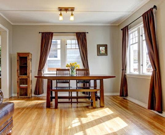 Maple Hardwood Flooring in Kitchen